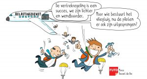 cartoon-vertrekregeling
